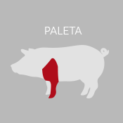 paleta delantera cerdo iberico icono