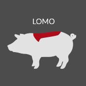 Explicación lomo ibérico icono